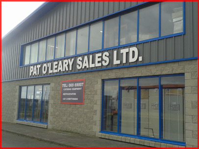 Pat O'Leary Sales: Catering Equipment